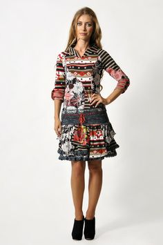 Savage Culture: Fancy Bow Lace Dress, only on wildcurves.com!
