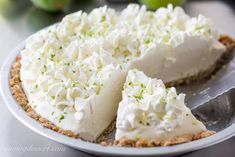 Frozen Margarita Pie with a Pretzel Crust ~ a wonderful light, creamy grown-up dessert that is incredibly easy to make with just a few tasty ingredients. Party Desserts, Dessert Recipes, Lemon Desserts, Margarita Pie, Icebox Pie, Pretzel Crust, Frozen Margaritas, Sweetened Whipped Cream, Fresh Lime Juice
