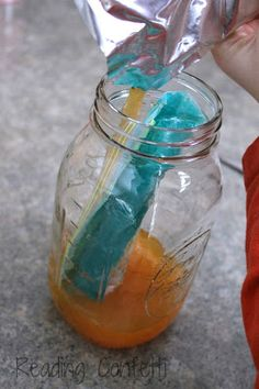 Make slushies without a blender - a fun science experiment for kids
