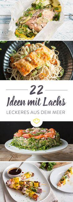 Aus dem Ofen oder in der Pfanne. Unter einer Käsekruste und auf einem Gemüsebett – du könntest die ganze Woche über Lachs essen? Dann sind diese 22 Rezepte genau das Richtige für dich. Jeden Tag eins, 3 Wochen lang. Und dann wieder von vorne.