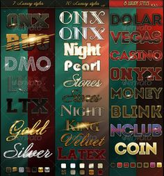 Bundle 25 Luxury Styles
