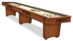 University of Wyoming Shuffleboard Table