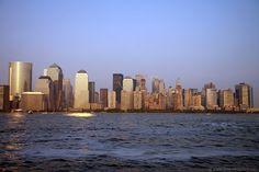 Lower Manhattan seen from New Jersey