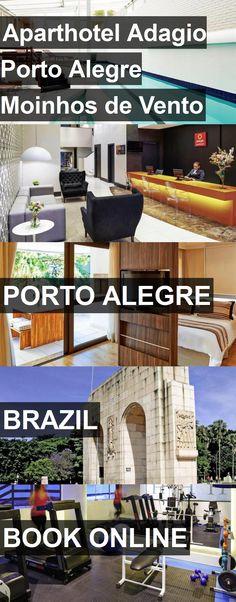 Aparthotel Adagio Porto Alegre Moinhos de Vento in Porto Alegre, Brazil. For more information, photos, reviews and best prices please follow the link. #Brazil #PortoAlegre #travel #vacation #hotel