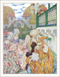 'Andersen-Kalender Twelve fairy tales retold by Hugo Salus. Illustrated and decorated by Heinrich Lefler und Joseph Urban. Published 1910 by M. Andersen's Fairy Tales, Fairy Tales For Kids, Art And Illustration, Art Nouveau, Children's Picture Books, 2d Art, Conte, Faeries, Deco