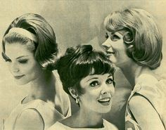 60's hairstyles Have a yearbook picture with the style on the left. I loved doing hair back then. Not so much now.