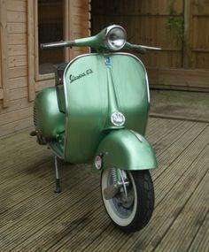 1960 Vespa GS150 #vespa #italiandesign my dear daddy's vespa...