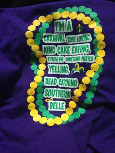 Cute Mardi Gras shirt!!