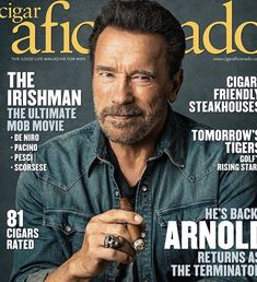 The Good Life Magazine, Cover Model, Irish Men, Arnold Schwarzenegger, Life Is Good, Movies, Magazine Covers, Top Rated, Instagram