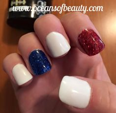 French White, Crystal Clear and Glitter EZdip Gel Powder. DIY EZ Dip. No lamps needed, lasts 2-3 weeks! Salon Quality done right in your own home! For updates, customer pics, contests and much more please like us on Facebook https://www.facebook.com/EZ-DIP-NAILS-1523939111191370/ #ezdip #ezdipnails #diynails #naildesign #dippowder #gelnails #nailpolish #mani #manicure #dippowdernails