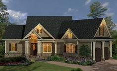 House Plan 699-00050 - Amazing outdoor space frames this gorgeous house design, perfect for entertaining and family time. There are approximately 1,729 square feet of living space with 3bedrooms/2baths and an optional 392 sq. ft. of bonus space. The foundation can be situated on an unfinished basement for even more expansion space. A great open floor plan optimizes the indoor space and there is a split bedroom plan as well.