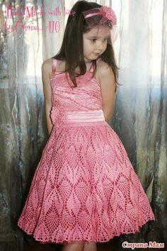 Crochet y dos agujas: Un vestido de princesa