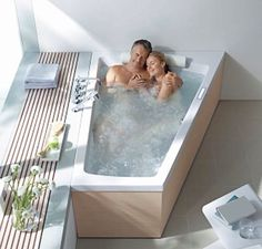 American standard EverClean acrylic whirlpool bathtub with left drain and rectangular alcove in - The Home Depot Jacuzzi Essentials double-ended whirlpool 1800 x Essentials Double Ended WhirlpoolBest bathtub for two master suite Double Bathtub, Bath Tub For Two, Big Bathtub, Jacuzzi Bathtub, Big Tub, Jetted Tub, Deep Bathtub, Bathtub Ideas, 2 Person Bathtub