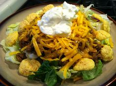 Low Carb Layla: Enchilada Salad #lowcarb