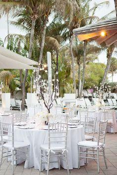 Southern weddings, Southern wedding ideas, manzanita crystal centerpieces, Florida wedding