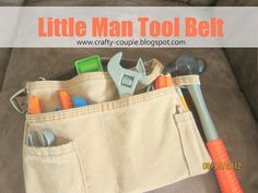Denim tool belt tutorial.  Sewing Sally tested and approved