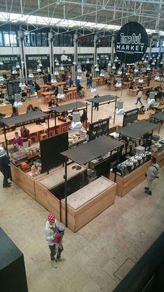 Market of the Shore - Gastronomie - Kiosk Design, Cafe Design, Retail Design, Store Design, Food Court Design, Food Hub, Open Market, Food Retail, Market Stalls