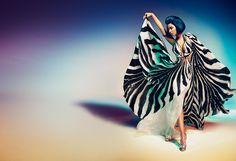 Roberto Cavalli / Nicki Minaj Spring/Summer 2015 advertising campaign.