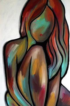 Peaceful Disturbance Art Print by Tom Fedro - Fidostudio - Malerei & Kunst Arte Pop, Pop Art Collage, Oil Pastel Art, Modern Art Paintings, Oil Paintings, Acrylic Paintings, Watercolor Art, Art Projects, Canvas Art