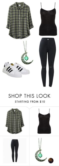 """""""Random Design I came up with."""" by bethm2109 on Polyvore featuring RVCA, Hanro and adidas"""