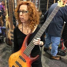 @bassmusicianmag #Namm #namm2017 #mtdbass #mtd #lynnkeller #BassMusicianMag