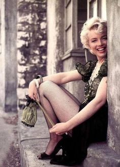 #Marylin Monroe by #Milton Greene|such a great smile http://babeblog69.blogspot.se/