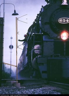 RailPictures.Net Photo: 614 Chesapeake & Ohio (C&O) Steam 4-8-4 at Shattuc, Illinois by Bob Edmonson