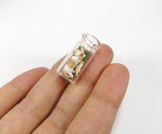 Miniature Cat, Polymer Clay Cat, Cat Famly, Tabby, Cat Mom, Kitten, Gift Miniature Art, Micro Miniature, in Bottle, Clay Animal, Mini Decor on Etsy, $85.00
