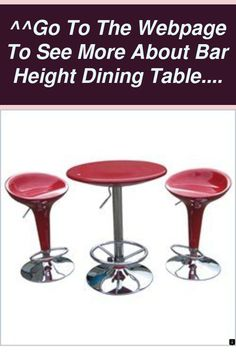An excellent rule of thumb to follow is that if it appears like it would endure a nuclear attack, add it to your dining establishment (food and people... Bar Height Dining Table, Home Bar Furniture, Billiard Room, Bar Set, Bars For Home, Own Home, People, Food, Meal