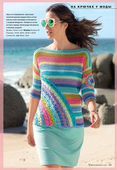 Fabulous Crochet a Little Black Crochet Dress Ideas. Georgeous Crochet a Little Black Crochet Dress Ideas. Crochet Bolero, Crochet Shirt, Freeform Crochet, Crochet Cardigan, Crochet Stitches, Knit Crochet, Crochet Patterns, Irish Crochet, Crochet Tops