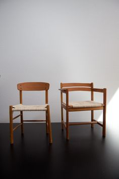 mini Børge Mogensen chairs