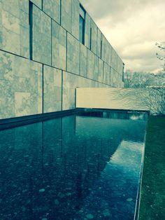 Reflecting pool at the Barnes