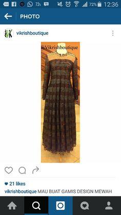 #busanamuslim#sedia-bahan#lebaran#gaun-malam#hitam#batik#hijab#