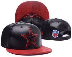 Dallas Cowboys All Leather Black Snapback Hats High Quality c9b73ea06b81