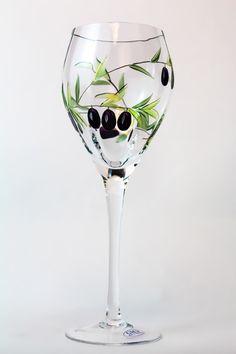 Oliva Wine Glasses (Set of 4)