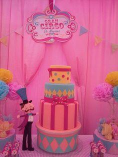 Circo para niña Birthday Party Ideas   Photo 1 of 8   Catch My Party