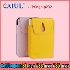 CAIUL Classic PU Leather case bags for Hiti Pringo photo printer P232 pocket wifi mobile photo printer protect cover case bags