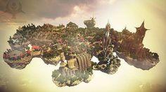Medieval-Fantasy-minecraft-world-save