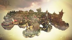 Medieval-Fantasy-minecraft-world-save