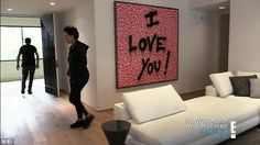 New digs: Kris Jenner has given up on Kim Kardashian and Kanye Wests renovations ever being completed - and has moved out of her own home to give them some space; she is seen in her new condo on KUWTK Kendall Jenner Room, Kris Jenner House, Casa Jenner, Kim Kardashian Home, Kim House, Pool Table Room, Room Of One's Own, Loft, Dream Rooms