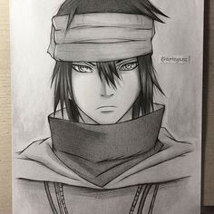 Sasuke's The Last look is finished✏ Tell me guys what do you think! It's always nice to read your comments - For those who are interested in what pencils I used check out my previous post #sasukeuchiha #thelast