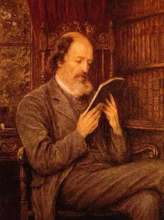 Alfred Lord Tennyson, Helen Allingham. English (1848-1926)