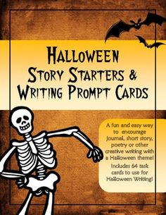 halloween story writing assignment