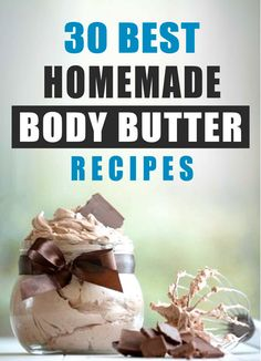 12 Decadent Homemade Body Butter Recipes: Heaven in a Jar - Simple Pure Beauty (homemade bath scrub body butter) Homemade Body Butter, Homemade Skin Care, Homemade Beauty Products, Homemade Body Scrubs, Best Body Butter, Homemade Beauty Recipes, Homemade Soaps, Bath Body Works, Diy Lotion