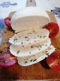 Diet Recipes, Vegan Recipes, Cooking Recipes, Good Food, Yummy Food, Cheese Lover, Homemade Cheese, Hungarian Recipes, Mozzarella