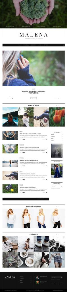 Miami is a complete WordPress #theme designed by minimal style for #Photography, Portfolio and #Blog websites. Download Now!