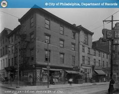 SE on 8th and Vine Sts - http://ehood.us/4dv SE on 8th and Vine Sts.   The City of Philadelphia's photo archive contains approximately 2 million photographic records that date from the late 1800's. This web site has a subset of those photos. All archive photos may be searched by keyword and date. Archive photos which have been assigned a geographic location are also searchable by proximity to an Address, Intersection, Place Name, or Neighborhood. Source: Phi