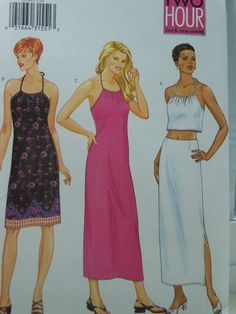 SALE Butterick 6590 Sewing Pattern  Misses' by WitsEndDesign, $4.00