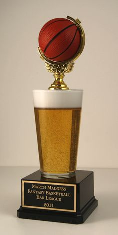This is one sweet fantasy trophy