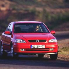 1998 Opel Astra G 2-Dr. Hatchback Cpe. driven